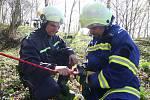 Taktické cvičení jednotek sborů dobrovolných hasičů v Ústí nad Orlicí nazvané Knapovecká špice.