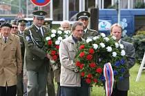 V Ústí nad Orlicí si připomněli výročí konce války.