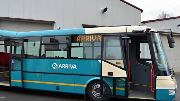 Jubilejní  5000. autobus ze SOR Libchavy.