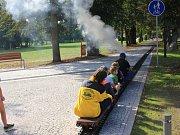 Choceňský zámek ovládla železnice.