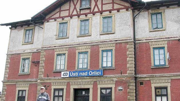 Nádraží v Ústí nad Orlicí.