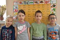 Žáci ze Základní školy Cotkytle.