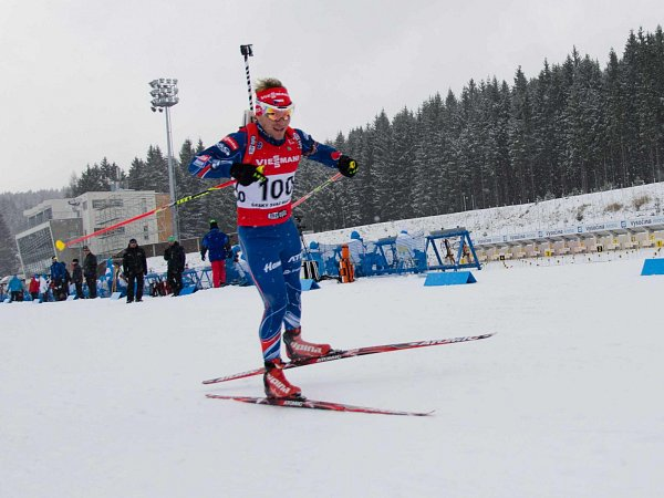 JUNIOR Ondřej Hošek během závodu.
