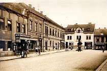 Hostinec U Pavlíčků, Jungmannova ulice číslo popisné 130 z období 1. republiky,