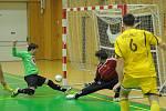 Futsalisté Nejzbachu porazili Benago Zruč nad Sázavou 2:3 a postoupili do play off.