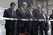 Z otevření nové haly v CZ Loko.