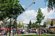 Den s integrovaným záchranným systémem na Kociánce v Ústí nad Orlicí.