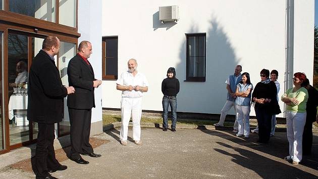 Slavnostní otevření zrekonstruovaného zdravotního centra v Letohradě.