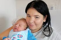 Sebastian Friml se narodil s váhou 3765 g dne 20. 8. v 3.09 hodin. V Dlouhé Třebové bude těšit Terezu Vaňousovou a Jiřího Frimla.