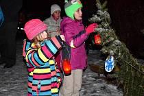 Rozsvícení vánočních stromů v Letohradu - Kunčicích.
