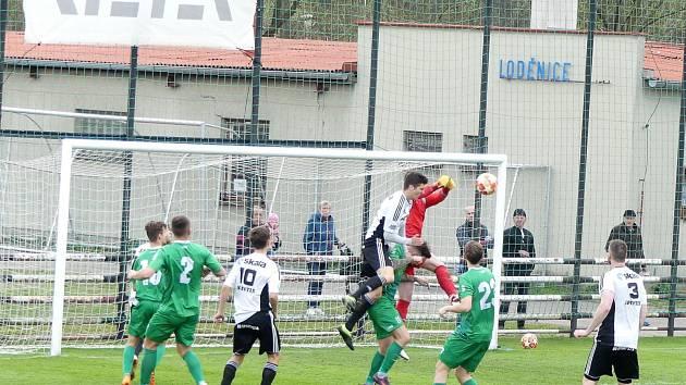 Česká fotbalová liga: TJ Jiskra Ústí nad Orlicí - Loko Vltavín.