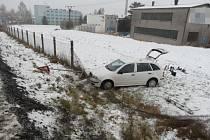 Havárie v Lanškrouně.