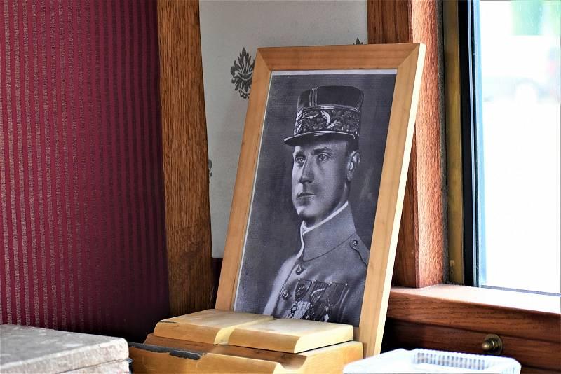 Legiovlak zastavil v Žamberku. Přináší osudy československých legionářů.