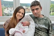 Eliška Tůmová bude doma s rodiči Lucií Hradeckou a Josefem Tůmou v Rudolticích – Zámečku. S váhou 2,320 kg se narodila 19. 6. v 18.47 hodin.
