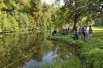 Rybářské závody v Chocni.