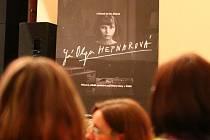 Z předpremiéry filmu Já, Olga Hepnarová v Ústí nad Orlicí..