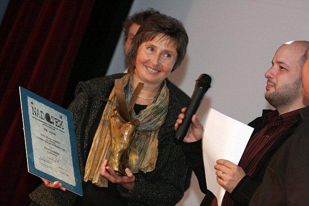 Cenu převzala producentka Jarmila Poláková.