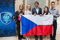 Čeští studenti na vědecké soutěži v USA.