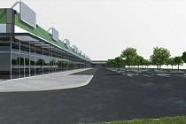 Veřejné debata v Žamberku nad změnou územního plánu, která by dala zelenou výstavbě retail parku. VIZUALIZACE: MĚSTO ŽAMBERK