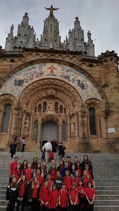 Žamberská Viola zpívala ve španělské Barceloně
