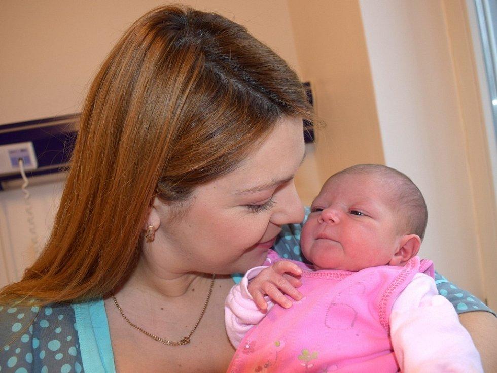 Emily Lučynská rozšířila rodinu Marty a Romana z Letohradu. Holčička spatřila světlo světa 28. 11. v 1.33, kdy vážila 3,10 kg. Sourozenci se jmenují Artem a David.
