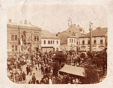 Jedna z prvních poutí v Ústí nad Orlicí.
