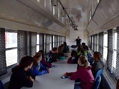 Preventivní vlak v Letohradu.