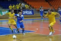 Utkání Chance futsal ligy Helas Brno - Nejzbach V. Mýto (2:2).