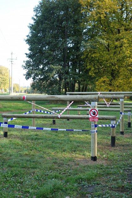 Nové tréninkové hřiště Gladiator Race vLanškrouně.