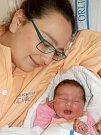 Marie Macháčková je prvorozená dcera Macháčkové Kateřiny a Dušana Marka z Dolní Čermné. Narodila se 17. 4. v 1.37 hodin s váhou 2850 g.