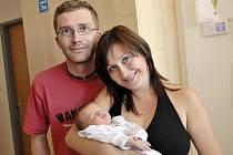 Jan Souček těší od 24. června od 17.28 hodin rodiče Veroniku a Jana z Jablonného. Po porodu mu navážili 2,7 kg a naměřili 50 cm.