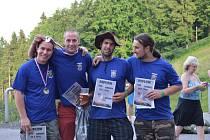 Úspěch v Liberci Tomáš Falta (1. místo), František Betlach (2.místo), Michal Hock, Michal Falta.