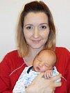 Samuel Franko je po Emmě a Nele další přírůstek do rodinky Jany a Martina z Letohradu. Narodil se 11. 5. v 8.25 hodin s váhou 3420 g.