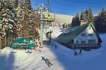 Ski centrum Říčky.