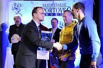 Z vyhlášení nejúspěšnějšího sportovce okresu Ústí nad Orlicí za rok 2012.
