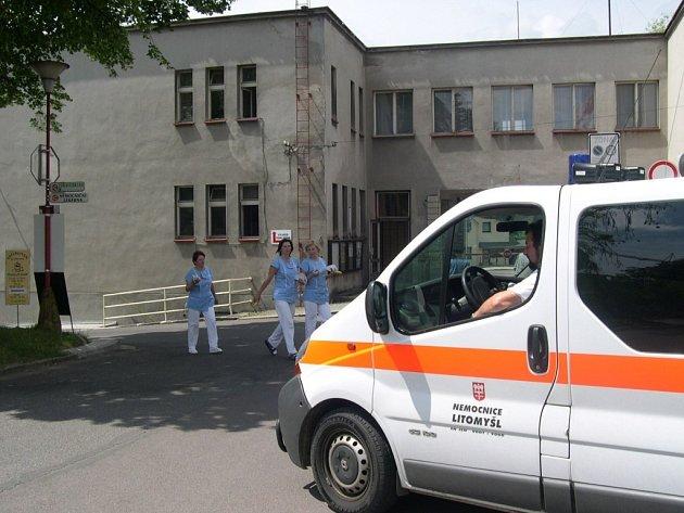 Nemocnice v Ústí nad Orlicí. Ilustrační fotografie.