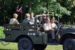 V Žamberku se v sobotu slavila hned dvě výročí, a to 75. výročí příchodu paraskupiny BARIUM a 110. výročí narození gen. Josefa Knopa.