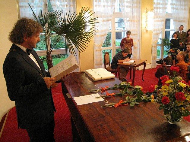 Předávání cen Comenius v Ústí.