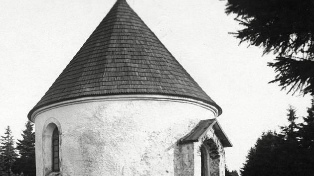 Kaple v Orlických horách.