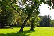 Park Peliny v Chocni.