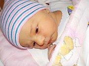 Eliška Kaválková se narodila s váhou 3200 g dne 29. 10. v 3.58 hodin. Doma v Nekoři bude těšit rodiče Lucii a Ondřeje, i sestřičku Nikolku.