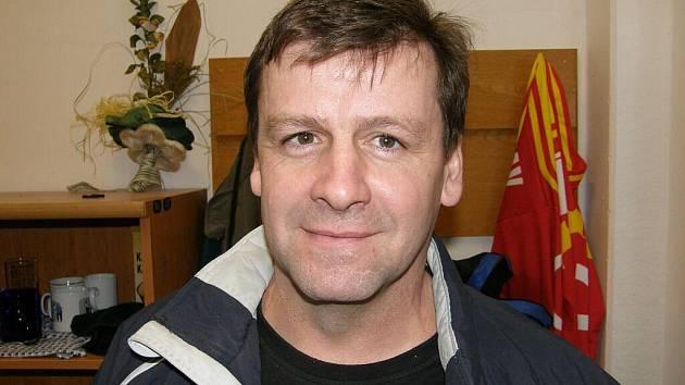 Otakar Janecký, nestor českého ledního hokeje.