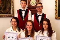 Studenti z Chocně ve Vlašimi získali zlato.