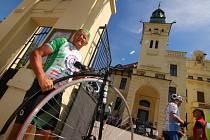 Cyklotour Na kole dětem v Ústí nad Orlicí.