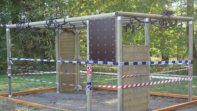 Nové tréninkové hřiště Gladiator Race v Lanškrouně.