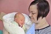 Alex Kharchikov je prvním dítětem Kristiny a Jana z České Třebové. Chlapeček se narodil 23. ledna v 13.20 hodin a vážil 3,860 kg.
