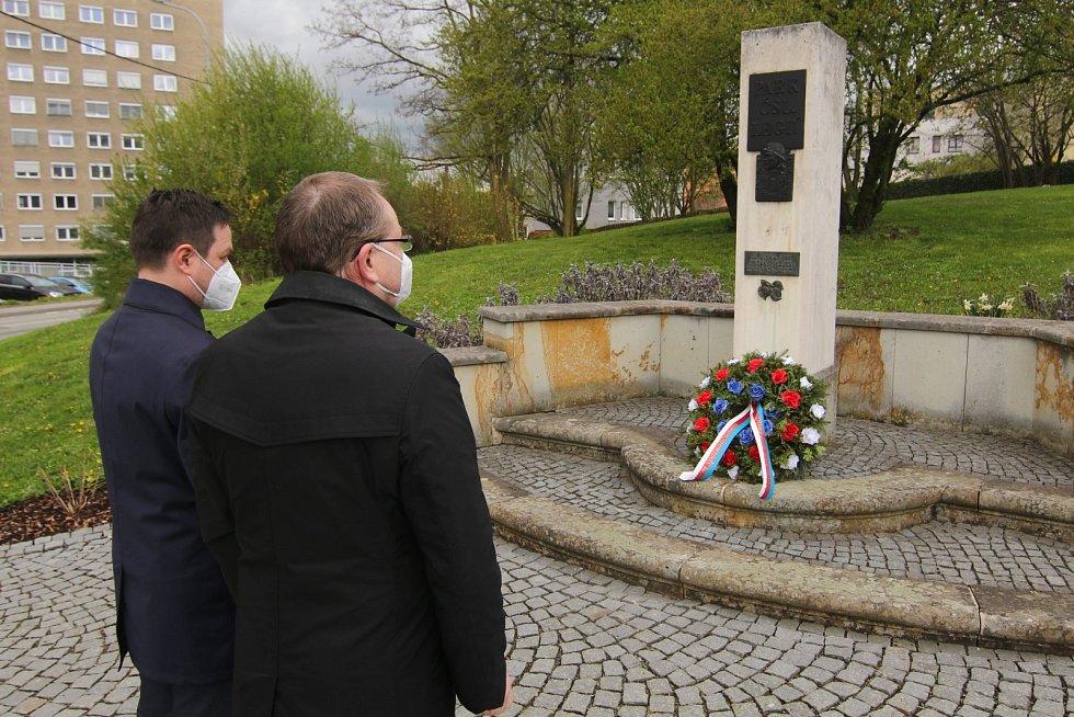 Připomínka 76. výročí osvobození.