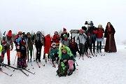 Poslední sníh - tradiční akce laškrounských turistů.