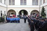 z oslav 145. výročí založení první hasičské organizace v Chocni.