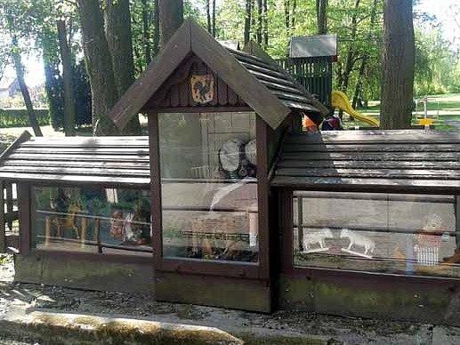 Atrakce v českotřebovském parku Javorka.